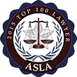 Top 100 Lawyers ASLA